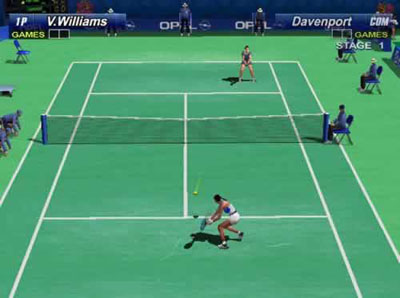 El Virtual Tennis en la Nintendo Wii
