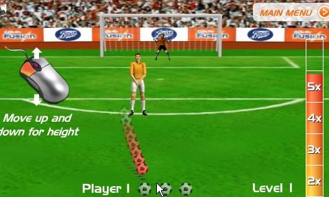 Juegos de futbol gratis en internet